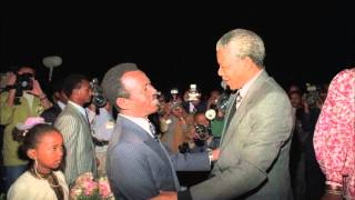 Former Ethiopian President Mengistu Haile Mariam about Nelson Mandela