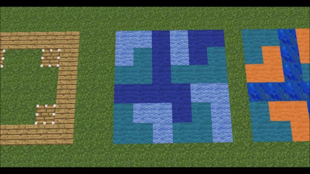 Minecraft floor block patterns default faithfull 32x32 for Minecraft floor designs