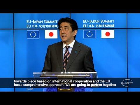 EU, Japan seek trade deal by 2015