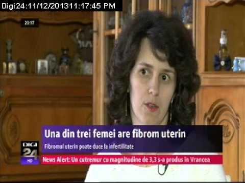 Una din trei femei sufera de fibrom uterin