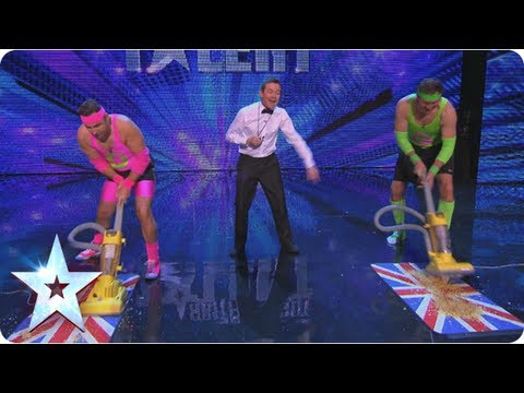 David Vs Goliath, who shall be the champion sucker? | Britain's Got More Talent 2013