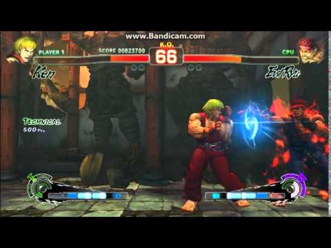 Super Street Fighter 4: Arcade Edition (PC) - Secret Evil Ryu boss battle