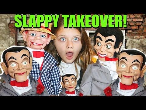 SLAPPY TAKEOVER! Slappy & Billy Are Back! Where's Slappys Mom?!