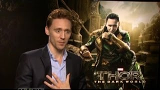 Tom Hiddleston Talks THOR 2, His Popularity Online, Solo