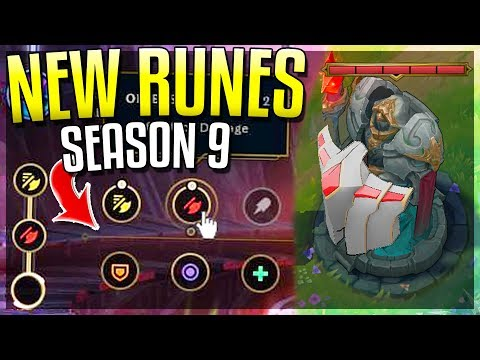 NEW PRE-SEASON 9 CHANGES!! New Runes, Bounties, Minions & MORE! League of Legends