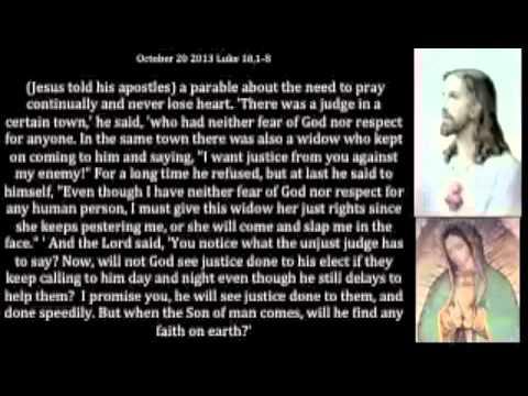 Gospel october 20 2013