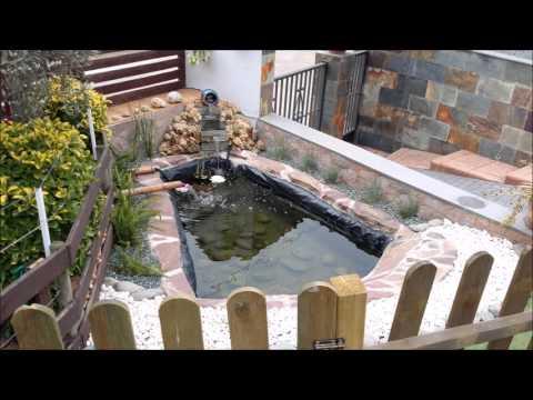 My koi pond jun 30 2013 phim video clip for Estanque koi construccion