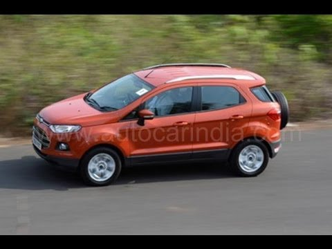 ford ecosport review by autocar india. Black Bedroom Furniture Sets. Home Design Ideas