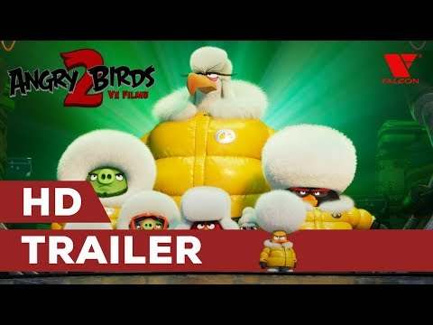 Angry Birds ve filmu 2 - trailer na animák