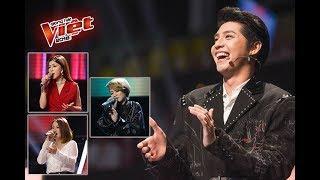 Để mang cả 3 học trò 4 chọn vào Top 10, Noo Phước Thịnh từng 'trầy vi tróc vảy'  tại The Voice 2018