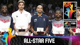 All-Star Five - 2014 FIBA Basketball World Cup