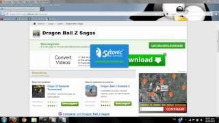 Como Descargar Dragon Ball Z Saga