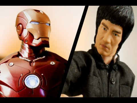 Iron Man vs Bruce Lee - drakoff.ru