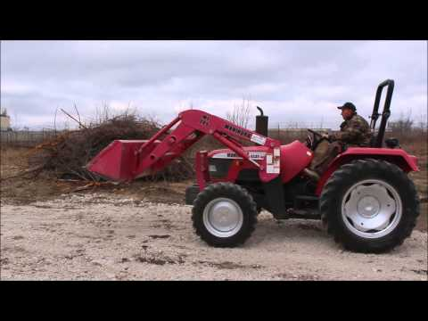 2001 Mahindra 4530 MFWD tractor for sale | no-reserve Internet auction April 9, 2014