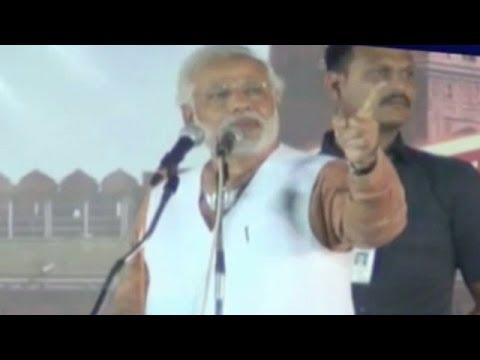 Narendra Modi challenges Congress