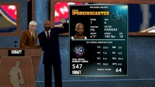 NBA 2K14 My Career The NBA Draft What Does A New