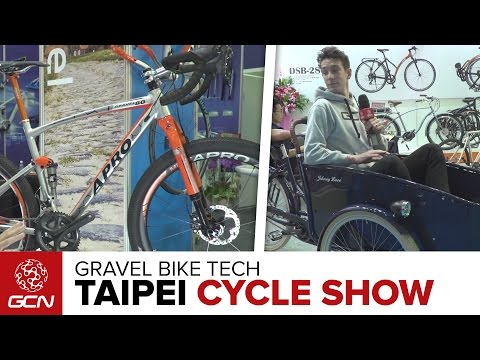 Gravel Bike Tech From The Taipei Cycle Show 2017