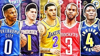 BEST NBA PLAYER FROM EACH JERSEY NUMBER IN 2019