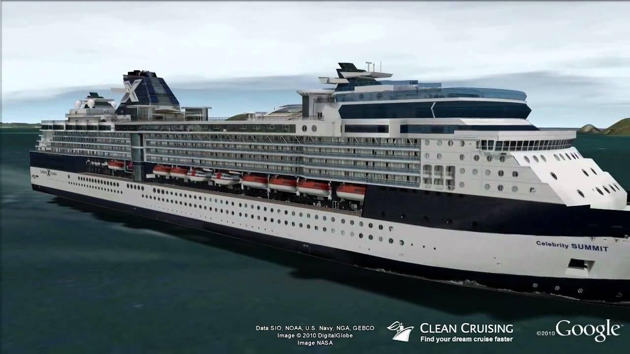 Celebrity cruise summit internet