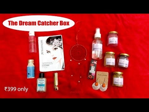 *New The Dream Catcher Box | First on YouTube | Honest Review | SahiJeeth