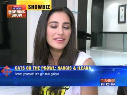 Cats on the prowl: Nargis Fakhri and Ileana D'cruz