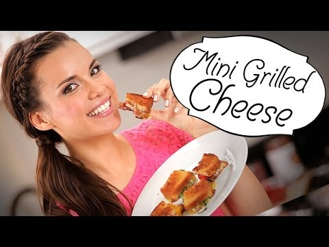 Ingrid Dishes | Mini Grilled Cheese Sandwiches | Recipes from Missglamorazzi