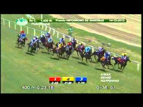 Vidéo de la course PMU PREMIO HIPODROMO DE MARONAS