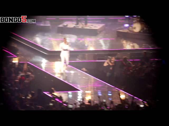 Trey Songz performing at the MTV MAMA, Durba, SA