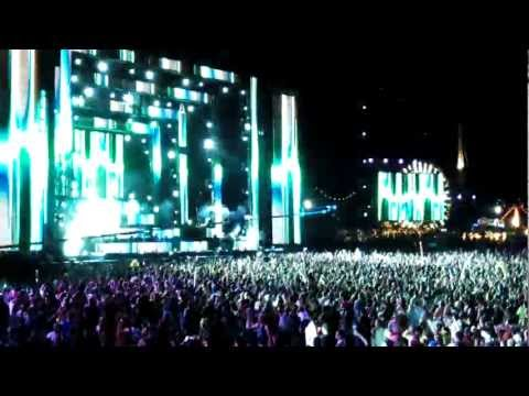 Knife Party at EDC Vegas 2012 - 1080HD Great Quality Vid/Sound - Bonfire-Crush on You