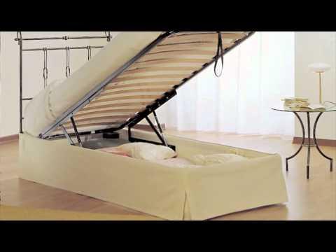 Cosatto letto matrimoniale aladino con box contenitore giwa materassi youtube - Sbloccare pistoni letto contenitore ...