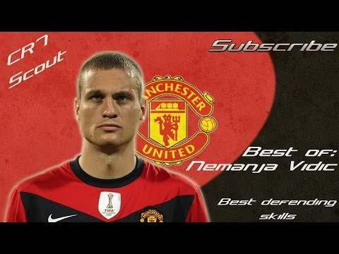 Nemanja Vidic ● The Serbian Wall● Best defending Skills ● HD