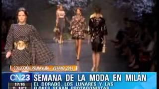 SEMANA DE LA MODA DE MILAN PRIMAVERA VERANO 2014 MODA