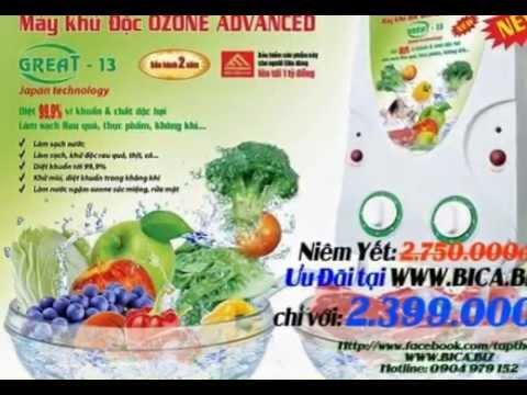 Máy khử độc thực phẩm Ozone Great 13 hàng chuẩn - giá tốt nhất