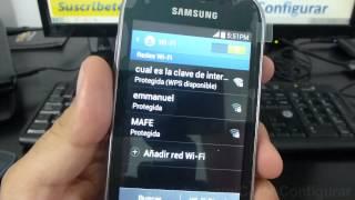 Como Configurar Wifi Samsung Galaxy Fame Español Full HD