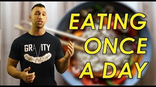Lose Weight Eating One Meal a Day 🍴 Benefits of Eating Once Per Day | Eat One Time Weight Loss Diet