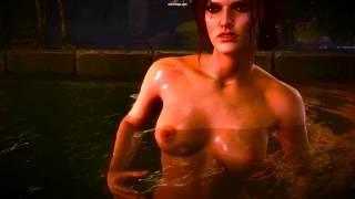 The Witcher 2 Escena En El Balneario Triss   Geralt view on youtube.com tube online.