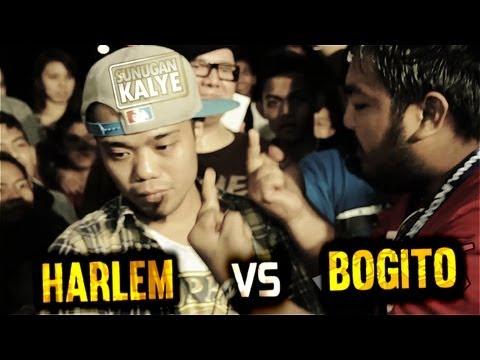 SUNUGAN KALYE - HARLEM VS BOGITO ( BLIND MATCH )