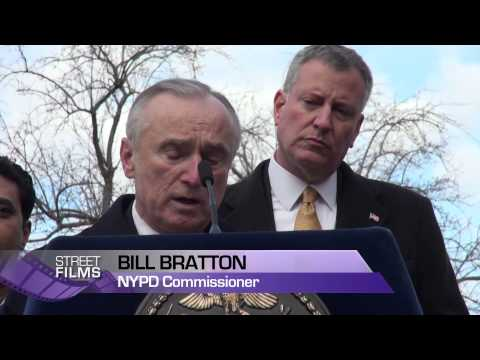 NYC Mayor Bill de Blasio Makes Historic