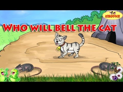 Who will bell the cat english animated moral stories kidsone