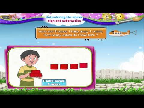 Learn Grade 1 - Maths - Introducing the Minus Sign and Subtraction