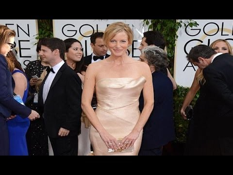 Anna Gunn Shows Off Her Newly Slim Figure at Golden Globes