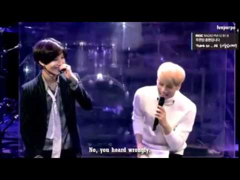 [ENG] 141021 SHINee Jonghyun - Blue Night Special Taemin meets Go Youngbae