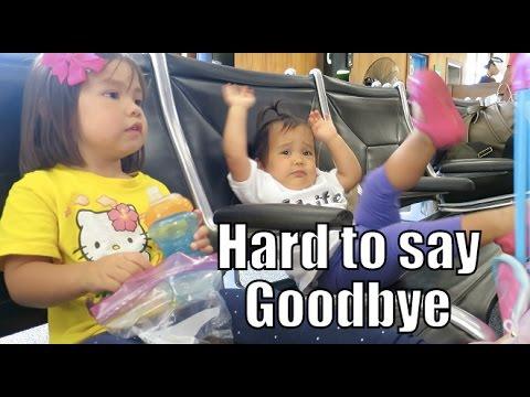 Hard to Say Goodbye - October 18, 2015 -  ItsJudysLife Vlogs