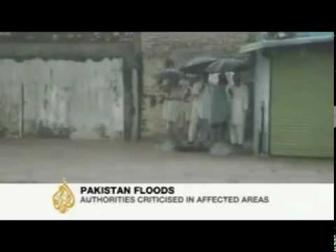 Flood in River Swat at Behrain