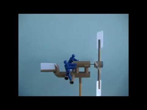 Catavento de Tubos de PVC (Weather Vane PVC Pipe)
