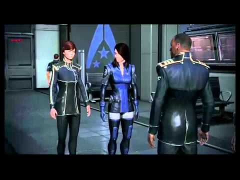 Mass Effect 3 (Beta) Ashley Williams reunion (No romance)