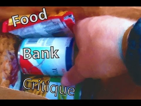 My Personal Critique of the Free Food Bank Food