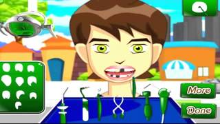 BEN 10 Go Dentist Cartoon Game 2014