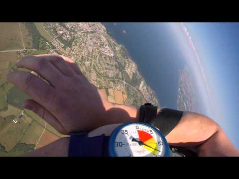 Friday Freakout: Skydiver Entangled With Parachute Lines On Opening