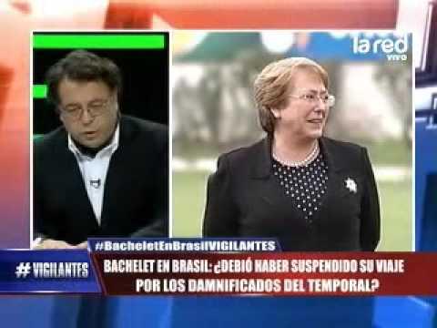 Evelyn Matthei critica viaje de Michelle Bachelet a Brasil